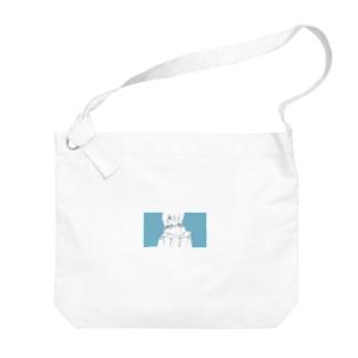 空っぽくん Big shoulder bags