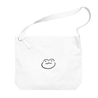 かえる太郎 ノーマル Big shoulder bags