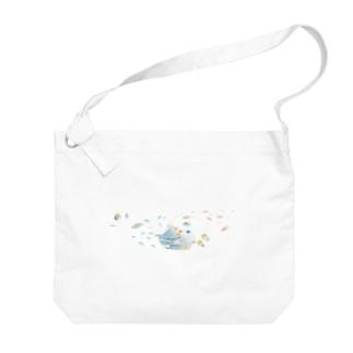 ばすてのサンゴ礁 Big shoulder bags