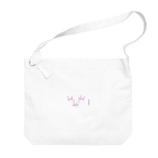 柴犬fam Big shoulder bags