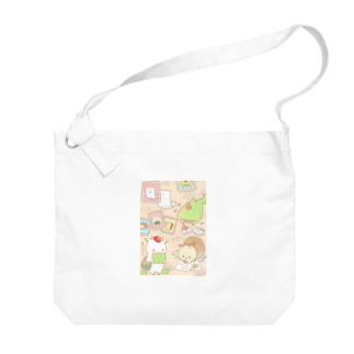 鈴のお手紙 Big shoulder bags