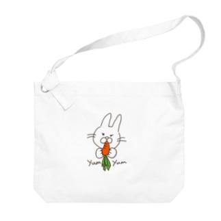 yumyumうさぎ Big shoulder bags