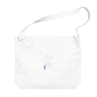 ユニコーン Big shoulder bags