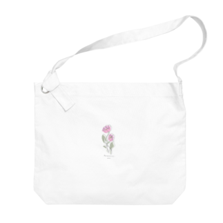 あすこたのFlower -WEST pink- Big shoulder bags