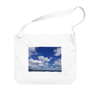 地平線の先へ Big shoulder bags