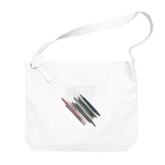 線分 Big Shoulder Bag