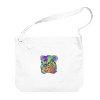 Schale bear Big shoulder bags