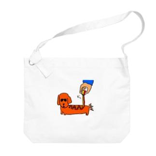 アメリカンドッグ Big shoulder bags