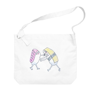 仲良し〜!!!☆+゜ Big shoulder bags