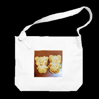 シェイモのおしゃれきつねさんパン Big shoulder bags