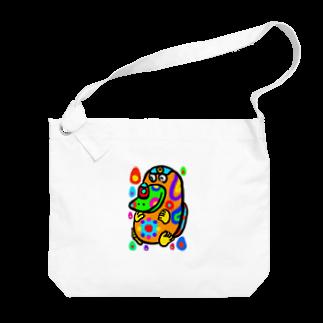 dorihopuのカモノハシ・2 Big shoulder bags