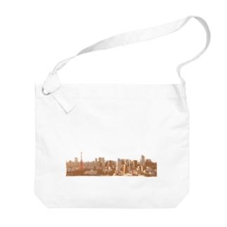 ご当地グッズ 東京 Big Shoulder Bag
