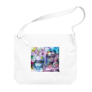 可愛い女の子(演) Big shoulder bags