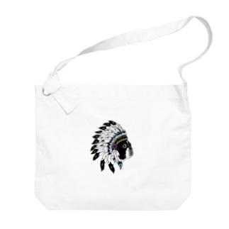 Park a Holic Bostonterrier ボストンテリア「セブン」 Big shoulder bags