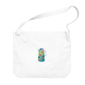 夢の給湯ポット 中国茶 Big shoulder bags