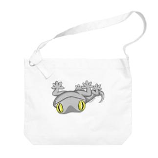 ニホンヤモリビッグショルダーバッグ Big shoulder bags