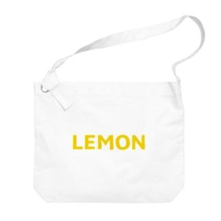 LEMON Big shoulder bags