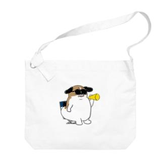 もじゃまる監督 Big shoulder bags