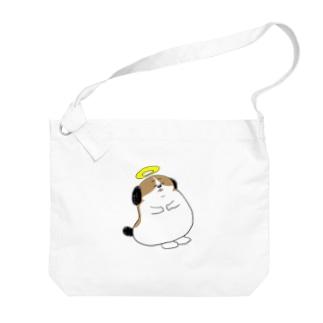 もじゃまる昇天 Big shoulder bags