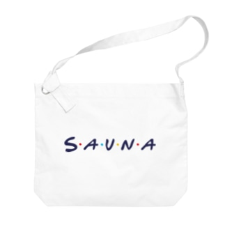 サウナフレンズ Big shoulder bags