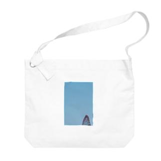 観覧車と空 Big shoulder bags