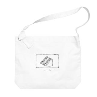 いちごサンド Big shoulder bags