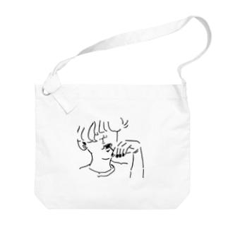 棒付きキャンデー Big shoulder bags