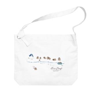 ペンギン保育園 Big shoulder bags