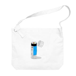 スティックのり巻き Big shoulder bags