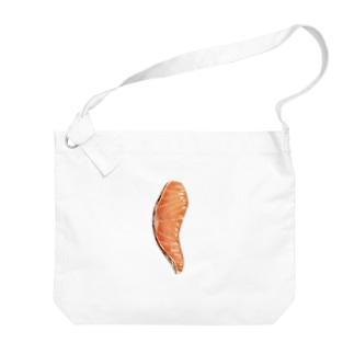 焼き鮭 Big shoulder bags
