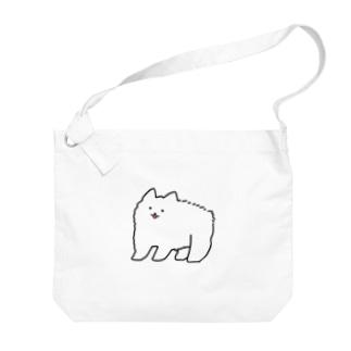おっきいワンちゃん Big shoulder bags