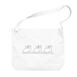 シンプルなやつ 2 Big shoulder bags