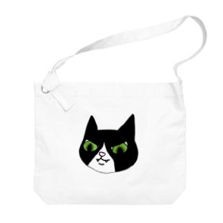 白足袋福蔵 Big shoulder bags