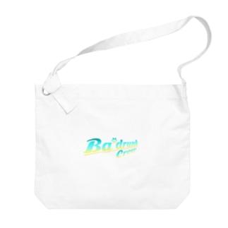 Ba'drunk ロゴデザインVer.2(Tropical) Big shoulder bags