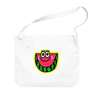 スイカくん🍉💗 Big shoulder bags
