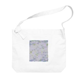 ajisai Big shoulder bags