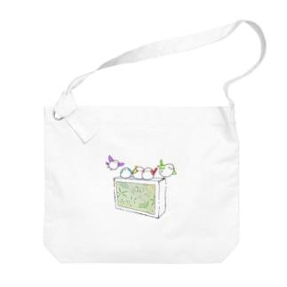 シガーエナガ Big shoulder bags