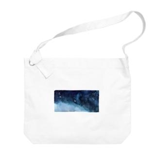 波打つ星雲:海原 Big shoulder bags