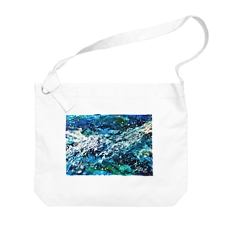 Ocean-002 Big shoulder bags