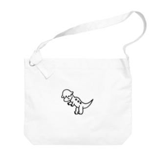 タレ目パキケファロ Big shoulder bags