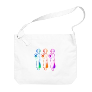 Girl5 Big shoulder bags