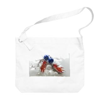 天川金魚 Big shoulder bags