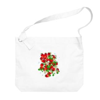 フレッシュ☆ストロベリー Big shoulder bags