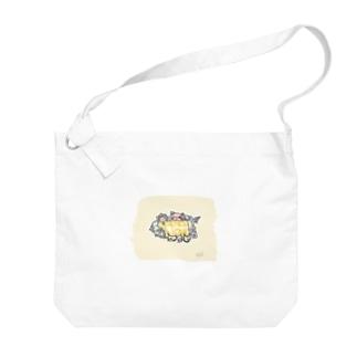 ピースラブ コラボ  Big shoulder bags