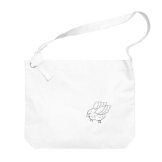 飛ぶ羊 Big shoulder bags