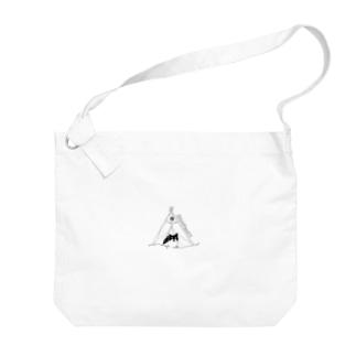 きゃんぷってぃ Big shoulder bags