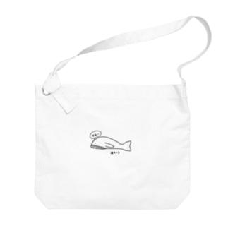 いちおうクジラ Big shoulder bags