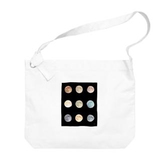 大好きな月を並べる Big shoulder bags