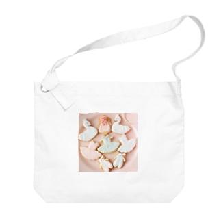 バレリーナアイシングクッキー Big shoulder bags