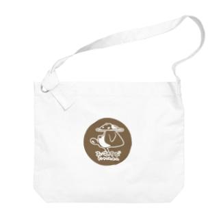 kitchenおむすびバッグ Big shoulder bags